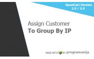 Assign Customer Group By IP