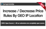 Auto Price Increment / Decrement Rules By GeoIP