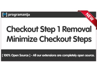 Checkout Step One Removal