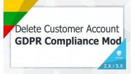 Delete / Close Customers Account - GDPR Compliance