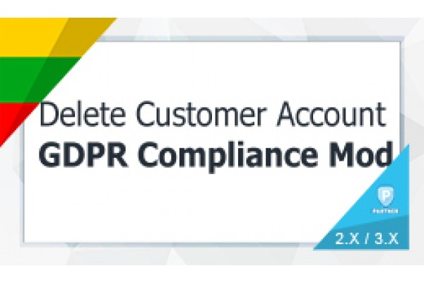 Delete / Close Customers Account - GDPR Compliance