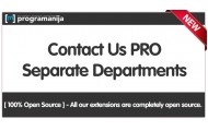 Contact us PRO - Contact Departments