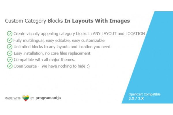 Custom Category Blocks In Layouts With Images