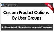 Diferrent Product Options Per User Groups