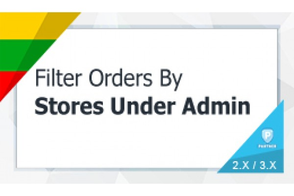 Search Order By Multi Store Under Admin
