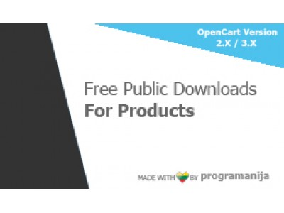 Free Public Downloads For Product