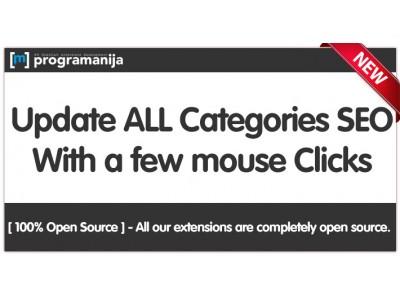 Mass Seo Categories Metadata & Urls Generator