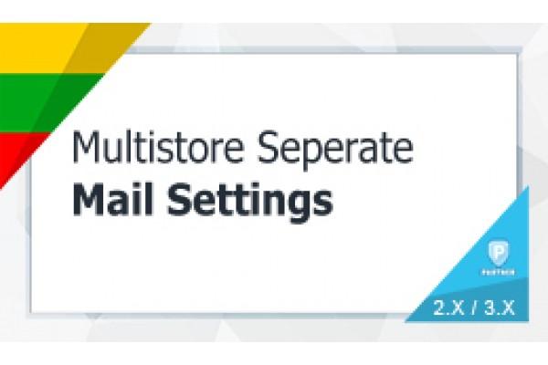Multistore Separate Mail Settings
