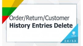 Order History Delete / User (History Transactions Reward) Delete