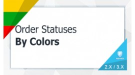 Sold Items Order Status by Colors