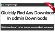 Search Downloads In Admin