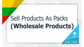 Sell Products As Packs / Wholesale Products