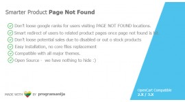 Smarter Products / Category PAGE NOT FOUND redirects 404 error