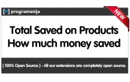 Total Saved on Products