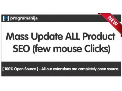 Mass Seo Products Metadata & Url Generator
