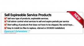 Sell Expireable Service Products
