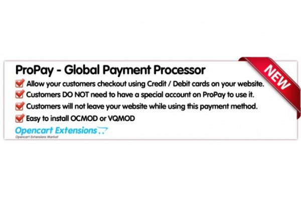 ProPay Global Payment Processor - CreditCards