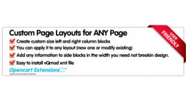 Custom Page Layouts For Any Page