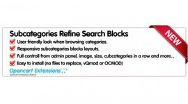 Subcategorie Images - Refine Search
