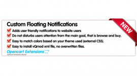 Custom Floating Notifications