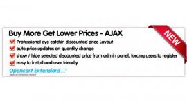 Buy More Get Lower Prices - Ajax