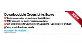 Downloads Expire Date