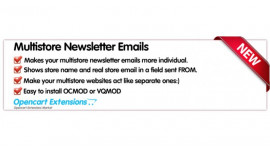 Separate Multistore Newsletter Emails