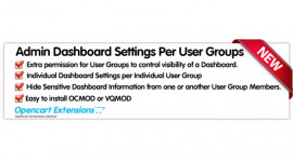 Hide Dashboard per User Groups - 2.X