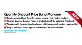 Quantity Discount Price Predefined Templates