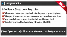 Afterpay Payment Integration
