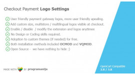 Checkout Payment Logos Settings