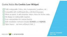 Cookie Notice (EU Cookie Law) Module