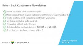 Get Back Customers newsletter - remarketing tricks